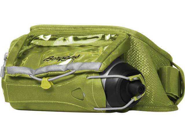 Bergans Fløyen Hydration Belt Sprout Green/Aluminium/Solid Dark Grey